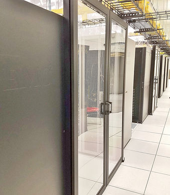Data Center hot cold aisle containment