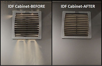 IDF Cabinet Cleaning