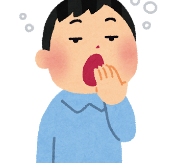 松山英樹選手のあくびの理由