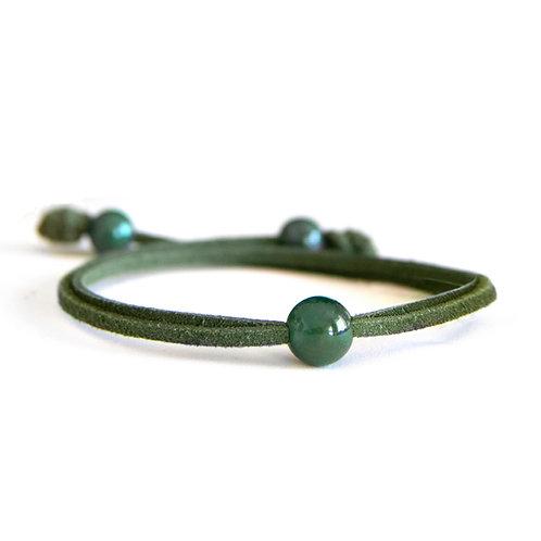Dalia Moss Green Bracelet