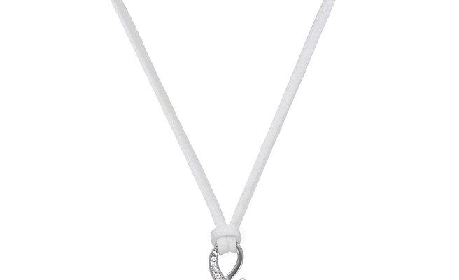 Symbiosis Onyx Necklace White