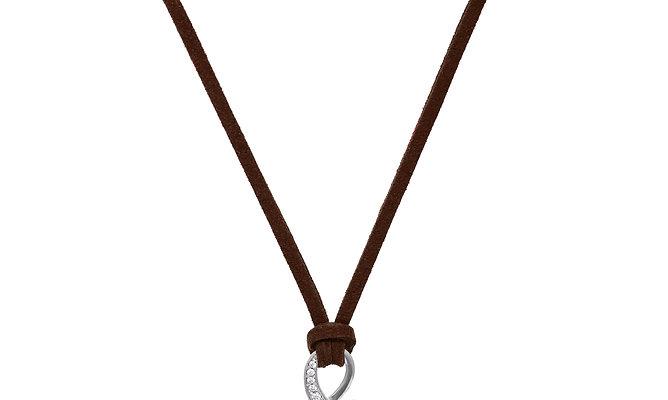 Symbiosis Onyx Necklace Dark Brown