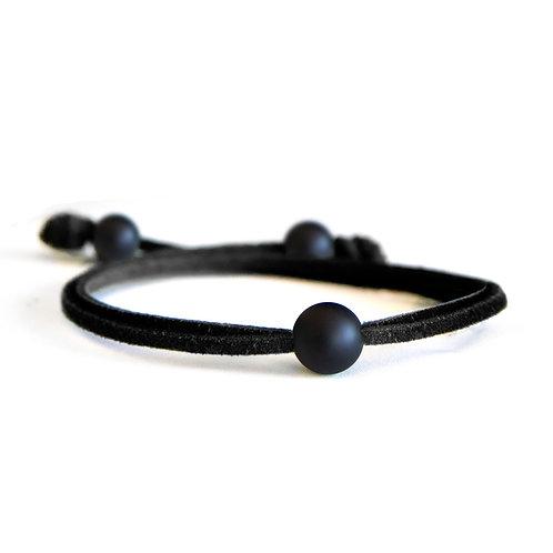 Dalia Matte Black Bracelet