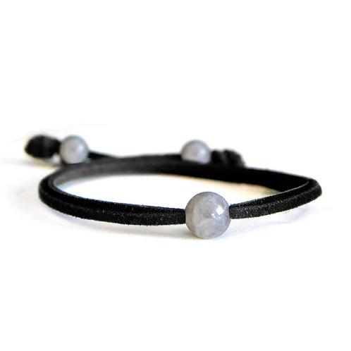 Dalia Obsidian Black Bracelet