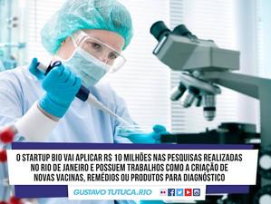 Startup Bio vai aplicar R$ 10 milhões nas pesquisas