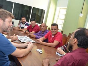 Reunião com prefeito de Itatiaia