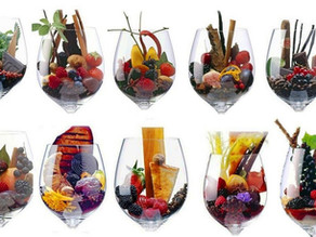 Os aromas e sabores do vinho