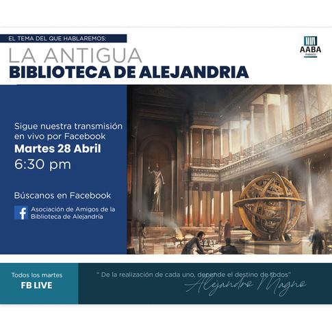 ANTIGUA BIBLIOTECA DE ALEJANDRIA