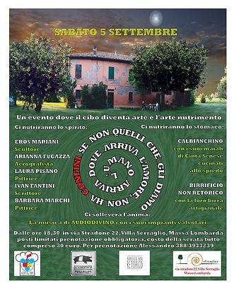 Locandina evento 5 settembre