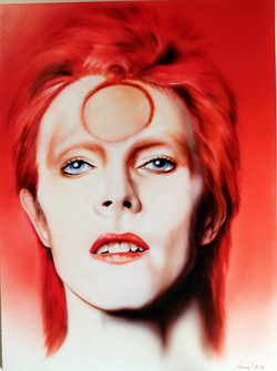 rosso - tributo a David Bowie