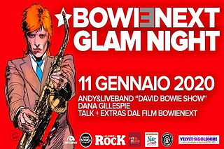 BOWIENEXT GLAM NIGHT