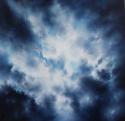 gabbiani in un cielo di novembre