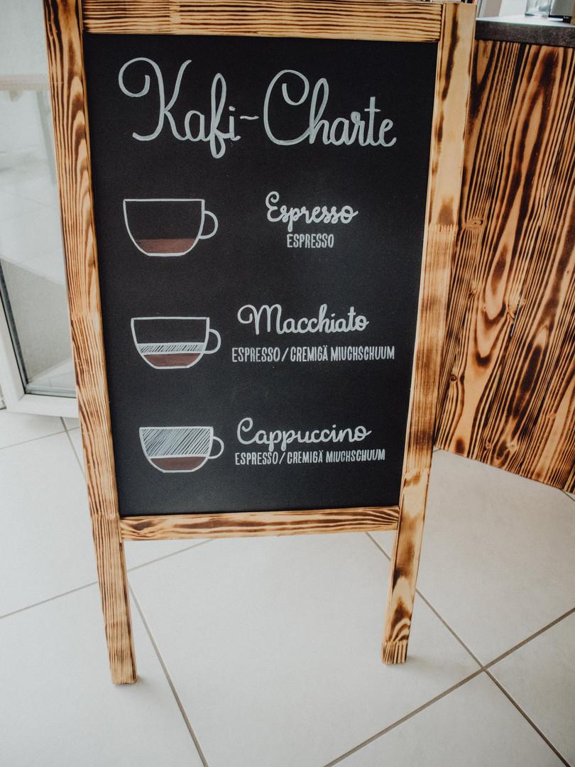 Unsere Kafi-Karte