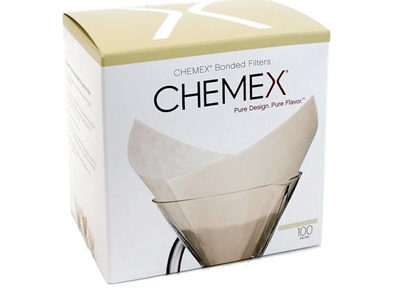 CHEMEX Filterpapier 6–10 Cup (quadratisch)