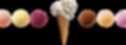 アイスクリーム&スクープ