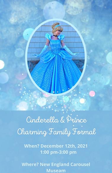 Cinderella & Prince Charming Family Form