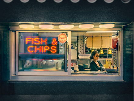 The Perfect Fish & Chips, Barry Cawston