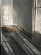 Light Beams Through Hall