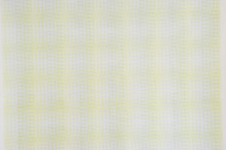 Lime Shift (detail), 2020, Watercolour & Pencil on Paper, 202 x 140 cm