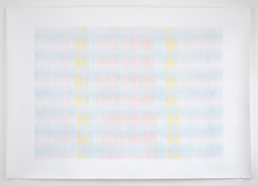 Terracotta/Yellow Shift, Anna Mossman, 2020