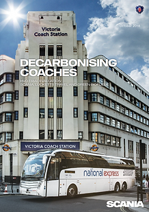 Scania decaarbonising coaches with GreenD+ fuel