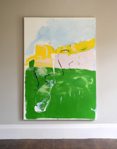 Green Ground I, 2016