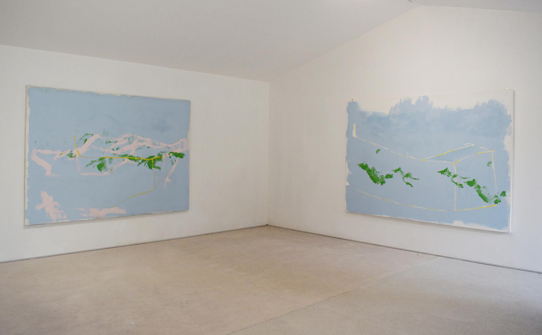 Paintings by Magnus Hammick