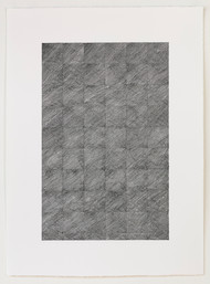 Small Diagonal Lines 10, 2017, Anna Mossman
