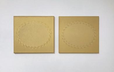 Jane Harris 'Reserve' (diptych) 2014 56