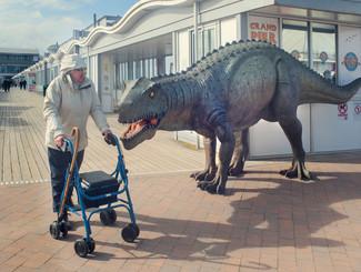 Jurassic Pier, Barry Cawston