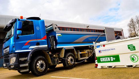 British off-road machinery operators can minimise CHG emissions