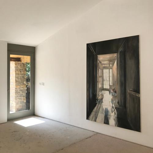 Hallway by Artist in Residence Katherine Perrins