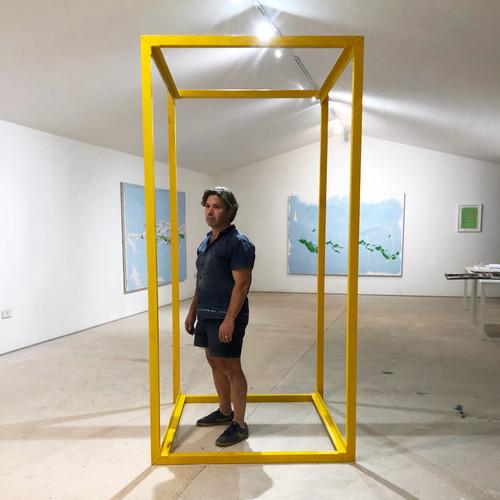 Magnus Hammick with Yellow Cube