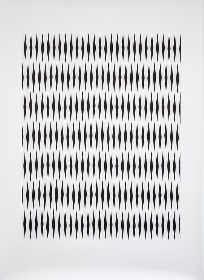Blue/Grey Shiver, Anna Mossman, 2019