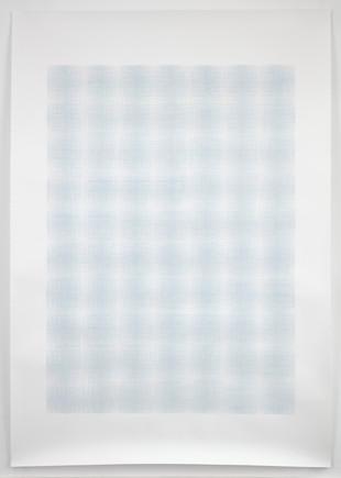 Double Blue Overlay, 2020, Anna Mossman