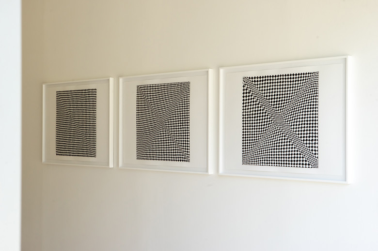 Imagined Legacies 18, 20 and 21 by Anna Mossman, side view