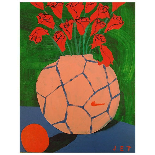 100 reasons for flowers. 19) Half time Oranges, 2021