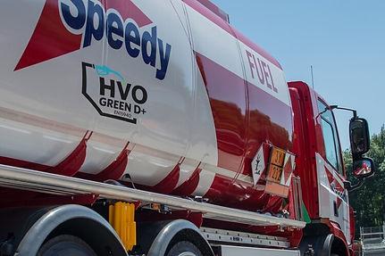 Speedy Fuel Truck GreenD+ HVO