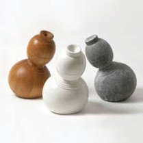 Grenville Davey - Litter Emperor in Wood, Ceramic and Stone