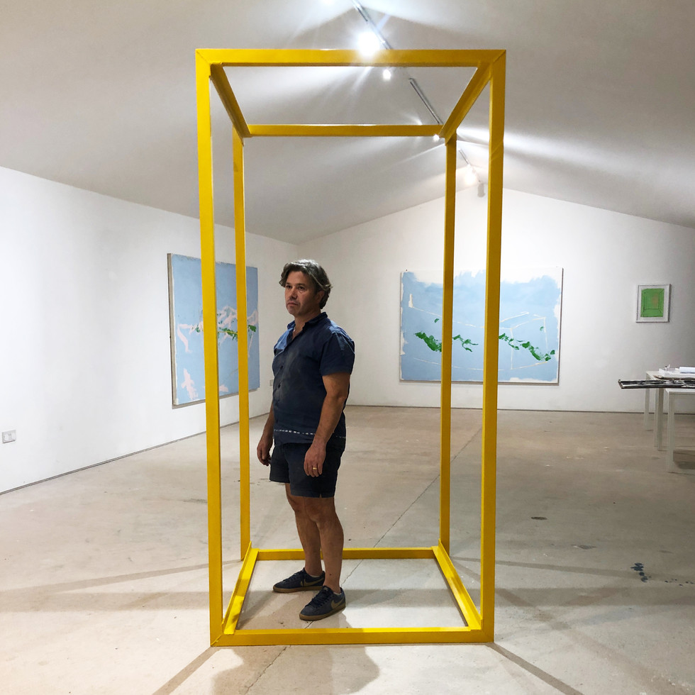 Magnus Hammick, Yellow Cube, 2020