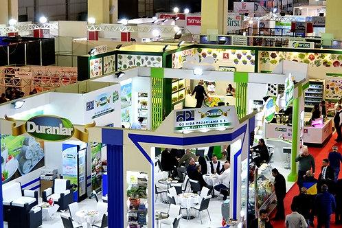 Anfaş Food Product - Uluslararası  Gıda  ve İçecek Fuarı 18-21 Ocak 2022 Antalya