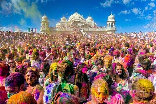 Hindistan Altın Üçgen (Holi Festivali) Agra–Jaipur–Delhi 6-12 Mart 2020