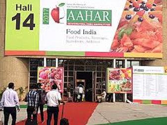 AAHAR INDIA 09-13 Mart 2021 Yeni Delhi