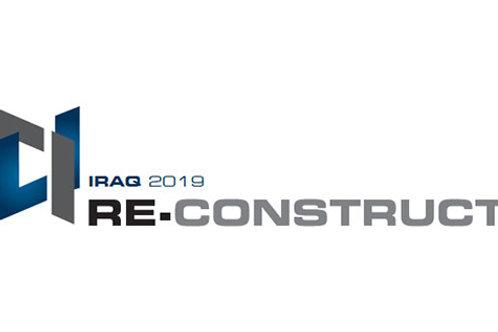 Re-Construct Iraq 26-29 Mayıs 2021 Erbil