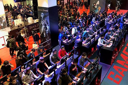 Gaming İstanbul Uluslararası Dijital Eğlence ve Oyun Fuarı 30 Ocak-02 Şubat 2020