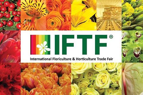 IFTF FLORICULTURE TRADE FAIR 03-05 Kasım 2021 Vufhuizen
