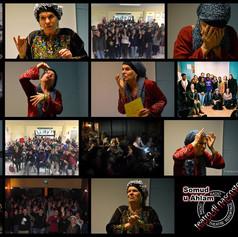 Annet Henneman director of Teatro di Nascosto who perfromed at women Representing Women.