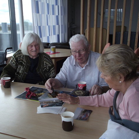 Reminiscence workshops with Stobhill Hospital