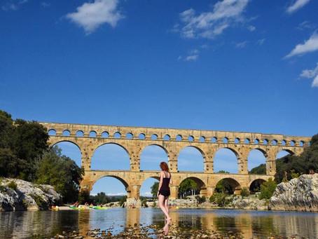 Pont du Gard to Saint-Raphaël