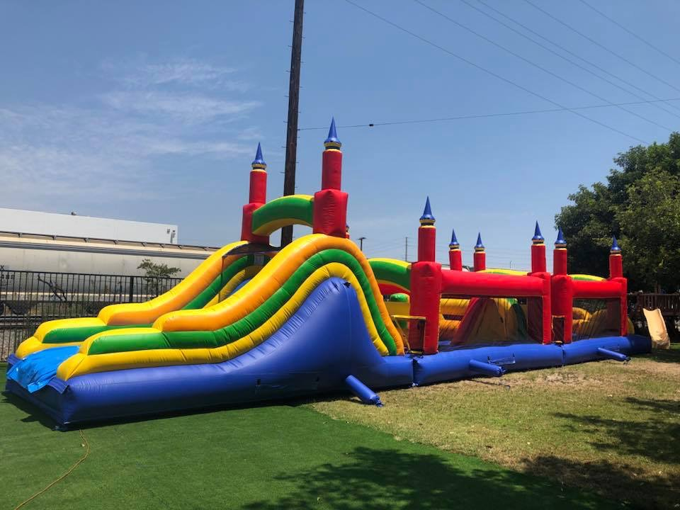 60 Foot Obstacle Course